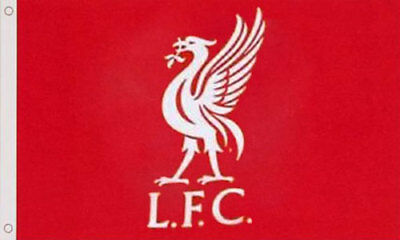 LIVERPOOL FLAG 5' x 3' Official Football Club FC Team LFC