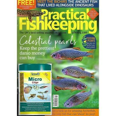 Practical Fishkeeping Magazine Oct 2018 Issue 10 PFK Mag Aquarium Pond Fish Pets