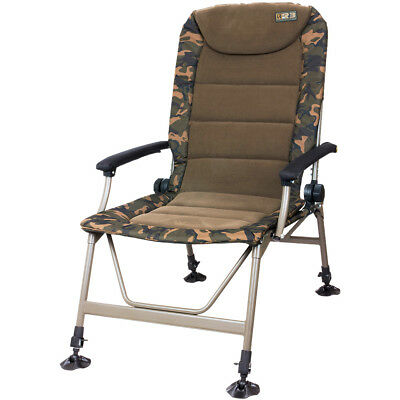 NEW Fox R3 Camo Chair Carp Fishing CBC062