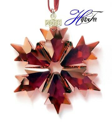2018 Holiday Red Annual Edition Ornament Authentic Swarovski Crystal 5460487