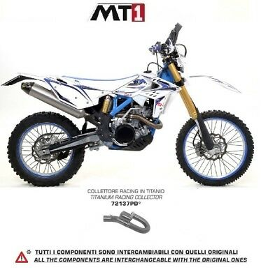Arrow Krümmer Auspuffanlage Titan Racing Beta Rr 350 - 390 - 430 - 480 2017 - 18