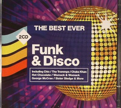 VARIOUS - The Best Ever Funk & Disco - CD (low-price unmixed 2xCD)
