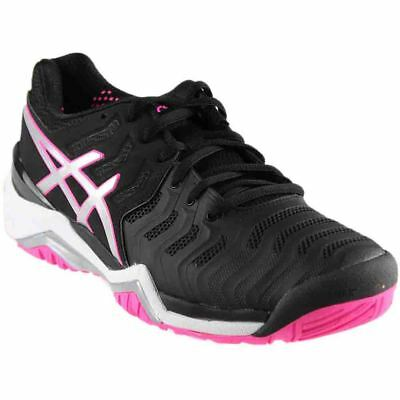 ASICS GEL-Resolution 7 - Black - Womens
