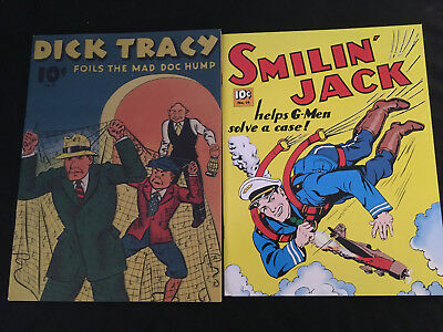 DICK TRACY FEATURE BOOK #11, SMILIN' JACK FEATURE BOOK #16 Pacific Comics Club