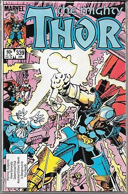 The Mighty Thor #339 (Vg) 1St Appearance Of Stormbreaker