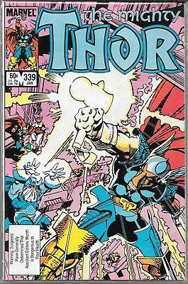 The Mighty Thor #411 (Vg) 1St Appearance Of Stormbreaker