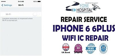 Iphone 6/6 plus original WIFI chip ic greyed out repair service