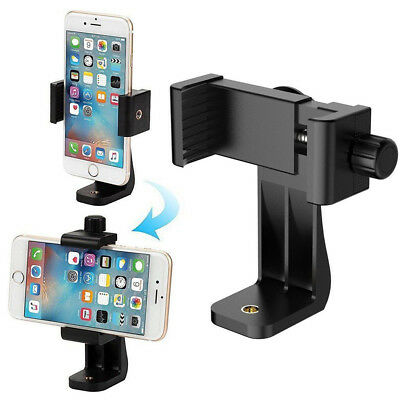 Universal Smartphone Tripod Adapter, Cell Phone Holder Mount Adapter Black Hot