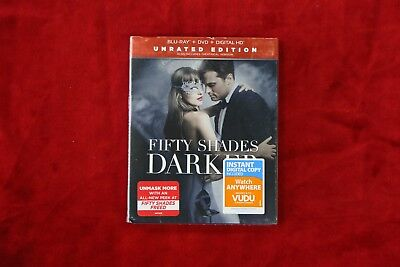 Fifty Shades Darker (Blu-Ray/DVD Unrated Digital) - NEW