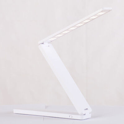 LED Folding Reading Desk Lamp Eye Protection Dimmable Table Night Light