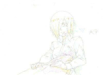 Anime Genga not Cel Tokyo Ghoul 3 pages #7