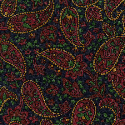 Longaberger Handle Gripper in Father's Day Paisley Fabric