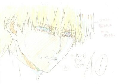 Anime Genga not Cel Tokyo Ghoul 4 pages #12