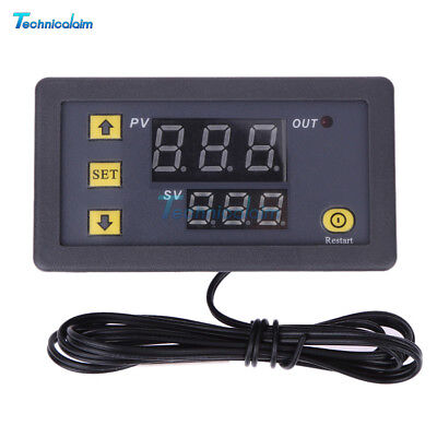 W3230 LCD 12V Digital Thermostat Temperature Controller Meter Regulator