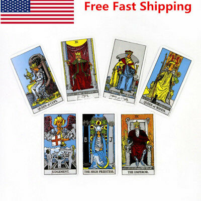 US Rider Waite Tarot Sealed 78 Cards Instructions Only Original Authorized Deck