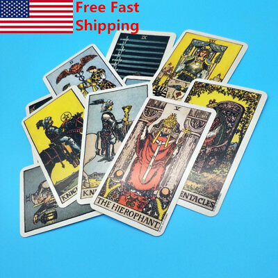 Funny Smith-Waite Rider Tarot Deck Vintage Original Card 78pcs Cards Set Sealed