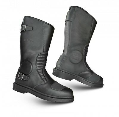 Dr Marten Garrick Classic Motorcycle Leather Boots D30 Armour - Uk 9