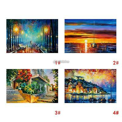 Modern 100 x 50cm Canvas Print Art Oil Painting Wall Picture Home Decor Unframed