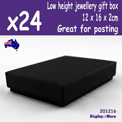 PREMIUM 24X Necklace Gift Box-12x16x2cm THIN | Great for Posting | AUSSIE Seller