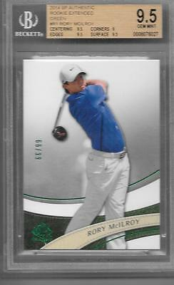 Rory Mcilroy 2014 Sp Authentisch Rookie Extended Grün / 99- BGS 9.5 Gem