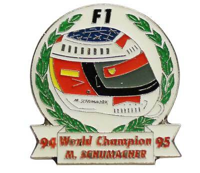 Michael Schumacher Helm Pin World Champion 94/95