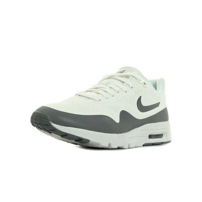 100% authentic 7e309 f05db Chaussures Baskets Nike femme Air max 1 Ultra Moire taille Blanc Blanche