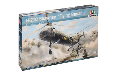 Italeri 2733 - 1/48 H-21C Shawnee Flying Banana - Neu