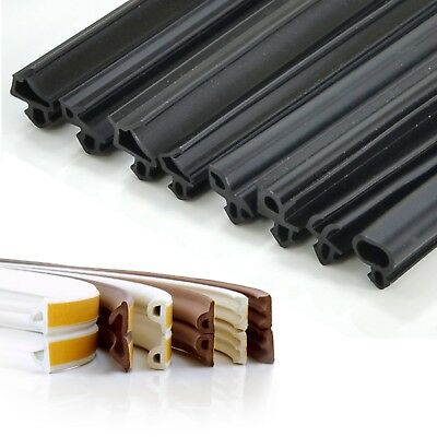 EPDM RUBBER SEAL for windows & doors draught prevention heat loss reduction new