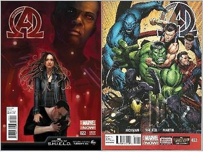 NEW AVENGERS #22 REGULAR + HANS MAOS VARIANT NM 1st PRINTS BAGGED & BOARDED