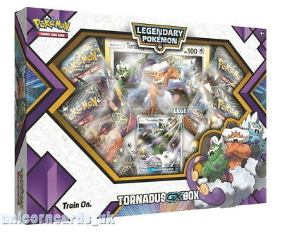 Pokemon TCG: Tornadus GX Box :: Brand New And Sealed!