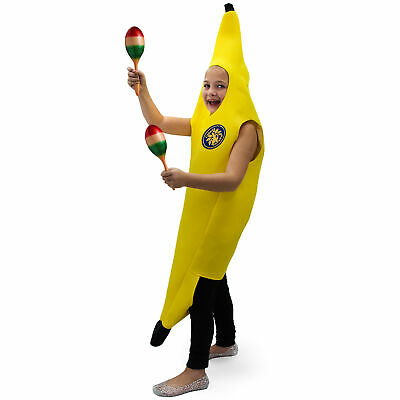 Cabana Banana Children's Costume - Classic Funny Food Outfit for Boys & Girls