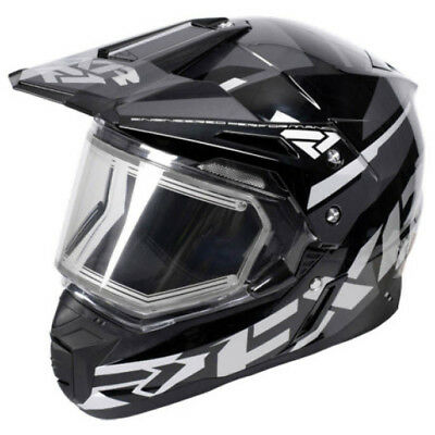 FXR - FX-1 Team Electric Shield Black OPS Adult Helmet - Small