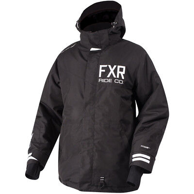FXR - Squadron Black Men Jacket - 2X-Large