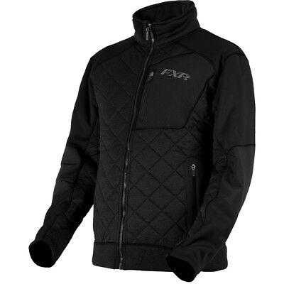 FXR - Burner Sherpa Tech Black OPS Men Zip-Up Jacket - Large