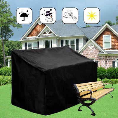 Heavy Duty Waterproof Garden Outdoor 2 3 4 Seater Bench Seat Cover Protection Uk