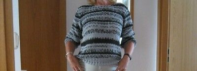 pretty nice 9efbe d022b PULLOVER STRICK DAMEN Oversize Gr. 38 - 42 Made in Italy NEUE FOTOS!