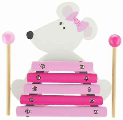 Orange Tree Toys PINK MOUSE XYLOPHONE Baby/Toddler/Child Wooden Toys Music BN