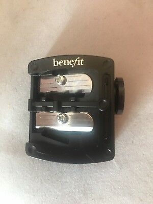 New! Benefit Pencil Sharpener Double Barrel Dual