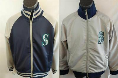 New Seattle Mariners Mens Size S Small Reversible High Quality Jacket