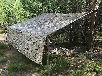 Helikon Tex SUPERTARP camogrom Outdoor Wilderness Tarp Bashra Plane camouflage