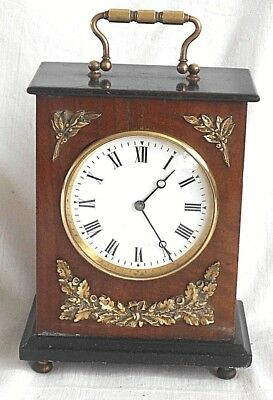 Late C19Th French Mantel Clock With Good Quality R & Co. Paris Movement