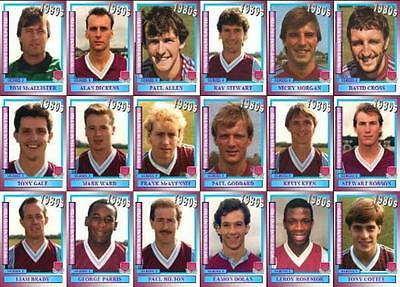 West Ham United 1980's series 1 vintage style Football Trading cards - Decades