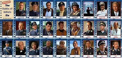 Battle of Britain movie Storyboard Trading cards Spitfire Plummer Caine Shaw