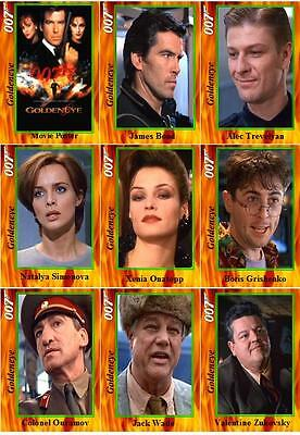 Goldeneye - James Bond movie Trading cards 007