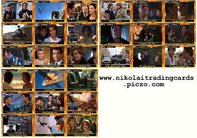 Goldeneye - James Bond movie storyboard Trading cards 007