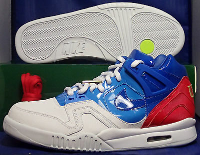 detailed look 8b8b3 06f7f Nike Air Tech Challenge II 2 Sp Us Offen Agassi Sz 12 (621358-146