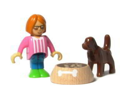 BRIO 33952 - Kind mit Hund - Figuren