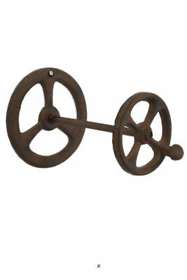 Wall Mount or Countertop Farmhouse Antique Faucet Cast Iron Toilet Paper Holder