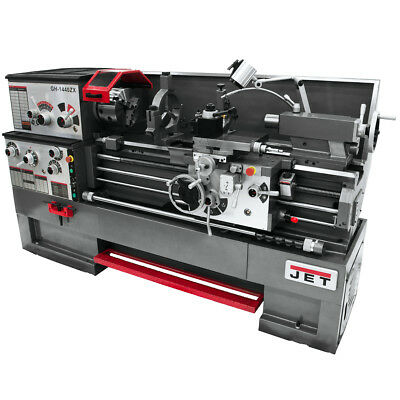 JET GH-1640ZX Large Spindle Bore Lathe With Collet Closer