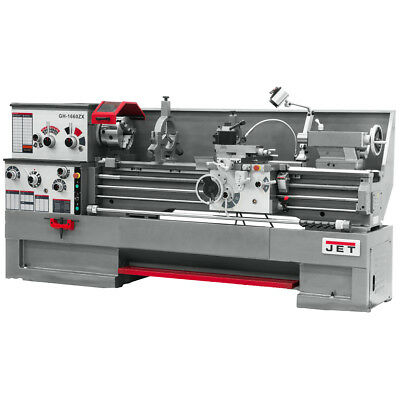 JET GH-1860ZX Large Spindle Bore Lathe With Taper Attachment
